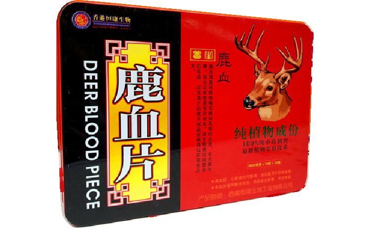 Таблетки Deer Blood Piece - из пантов и крови оленя (для улучшения эрекции)